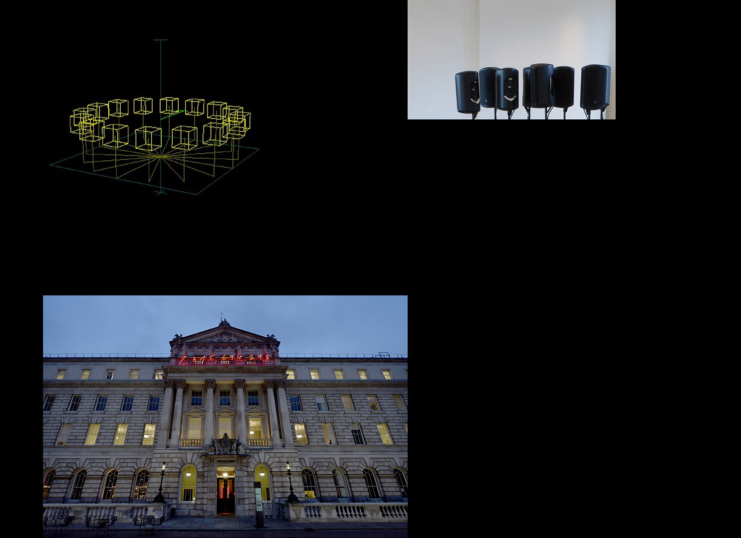 Ambisonic sound system at Somerset House